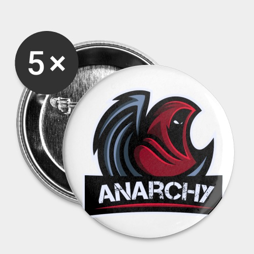 Official LoA Logo - Buttons small 1'' (5-pack)