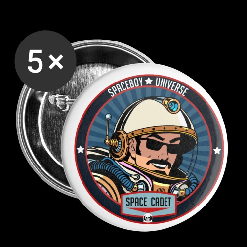 Spaceboy - Space Cadet Badge - Buttons small 1'' (5-pack)