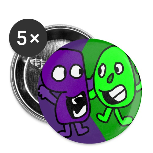 Screechlo Buttons - Buttons small 1'' (5-pack)