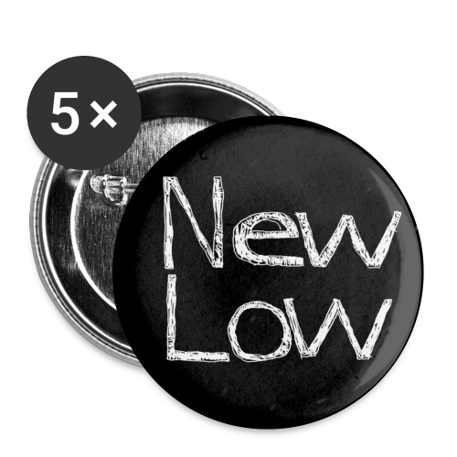 new low button - Buttons small 1'' (5-pack)