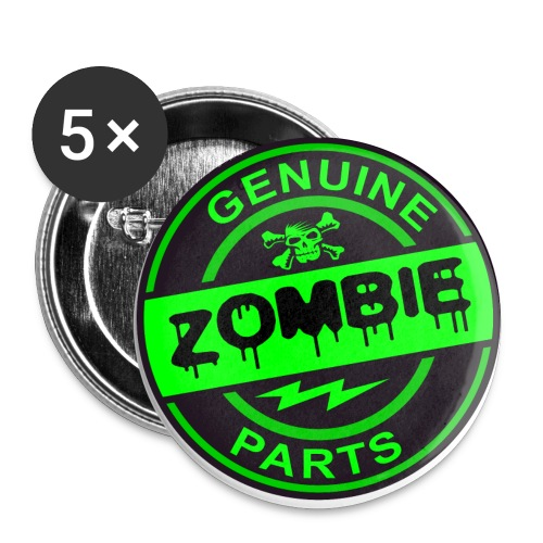 zombie parts - Buttons small 1'' (5-pack)