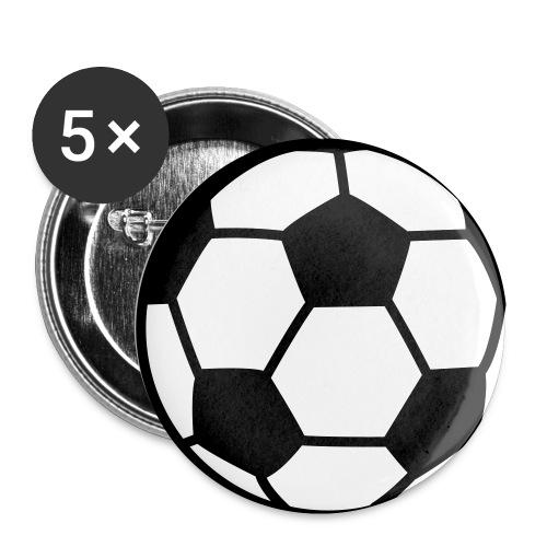 custom soccer ball team - Buttons small 1'' (5-pack)