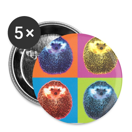 herisson pop - Buttons small 1'' (5-pack)