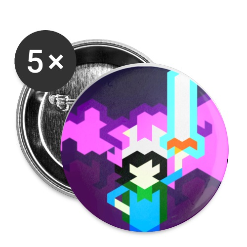 zmkVGeX png - Buttons small 1'' (5-pack)