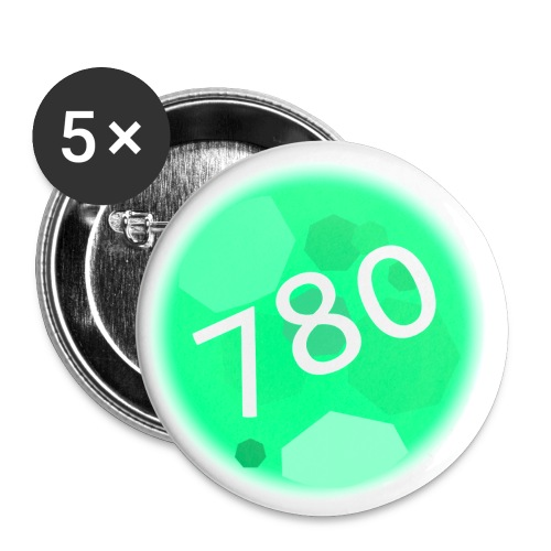 780 Logo - Buttons small 1'' (5-pack)