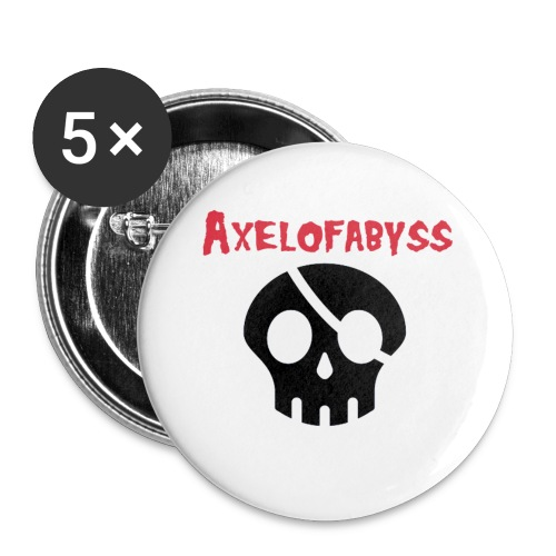 skull pirate 2 - Buttons small 1'' (5-pack)