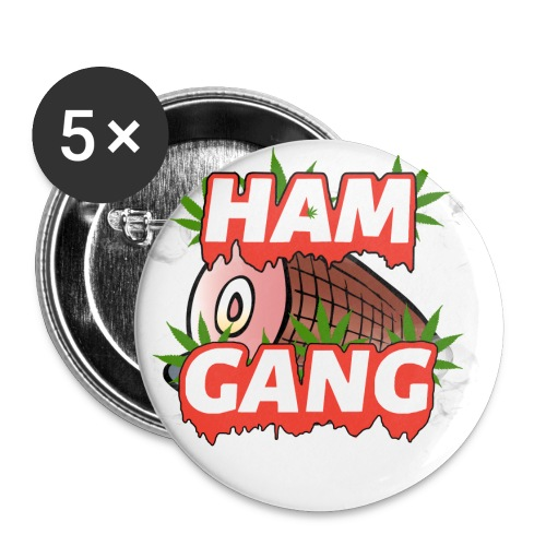 HAM GANG REPPIN - Buttons small 1'' (5-pack)