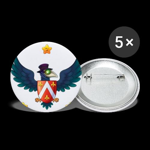 YOUR BABY PIRATE'S FIRST COAT OF ARMS! - Buttons small 1'' (5-pack)