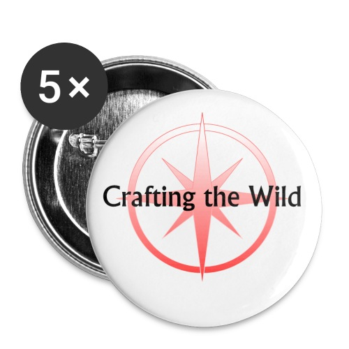 Crafting The Wild - Buttons small 1'' (5-pack)