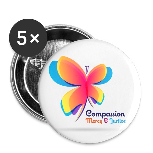 cmj-logo - Buttons small 1'' (5-pack)