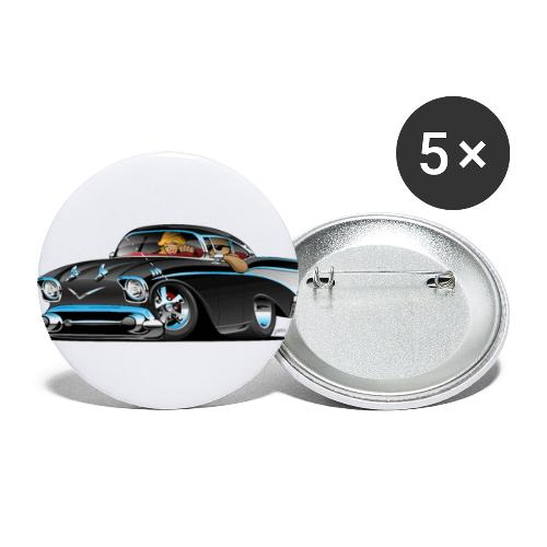 Classic hot rod fifties muscle car - Buttons small 1'' (5-pack)