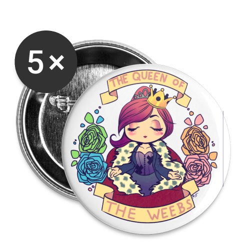 MSL: Queen of the Weebs - Buttons small 1'' (5-pack)