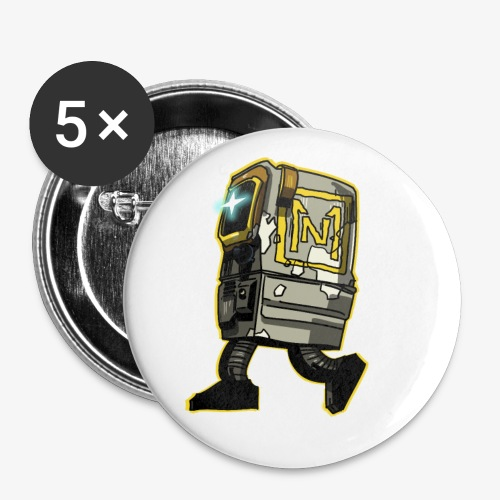 Gonk Yellow by Itself - Buttons small 1'' (5-pack)