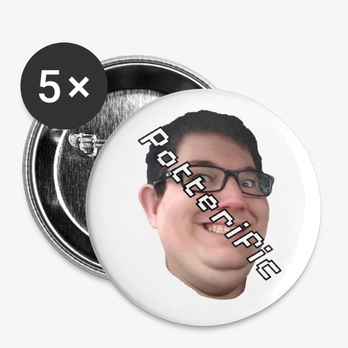 Potterific - Small Buttons
