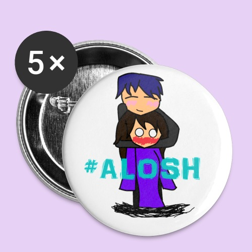 #ALOSH4LIFE - Buttons small 1'' (5-pack)