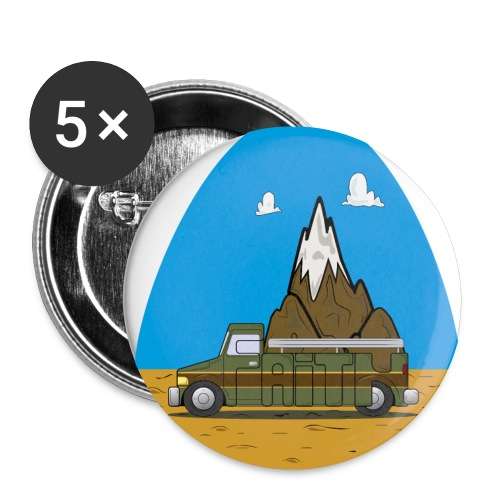 faith moves mountains 2018 - Buttons small 1'' (5-pack)