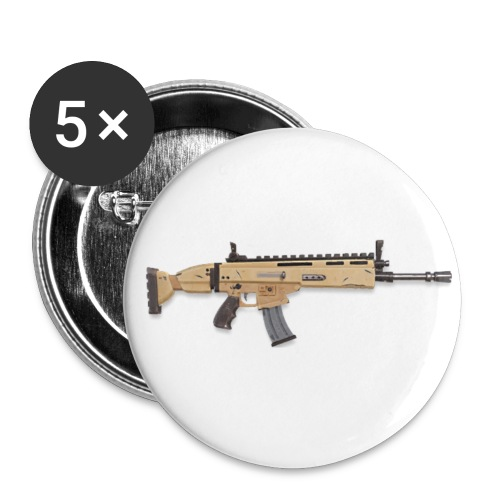 Golden Scar - Buttons small 1'' (5-pack)