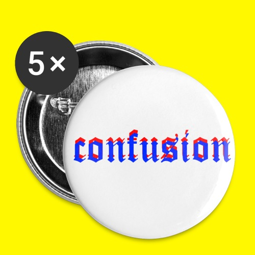 3D confusion - Buttons small 1'' (5-pack)