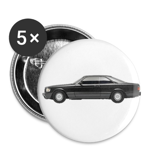 Mercedes Benz SEC Buttons- 5 pack - Buttons small 1'' (5-pack)