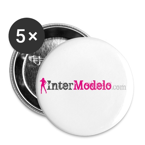 Intermodelo Color Logo - Buttons small 1'' (5-pack)
