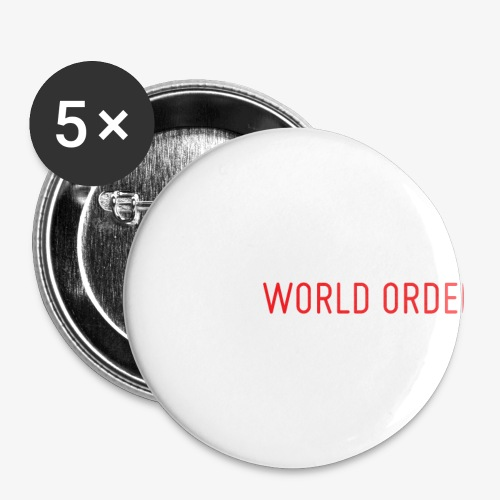 A New World Order Logo - Small Buttons