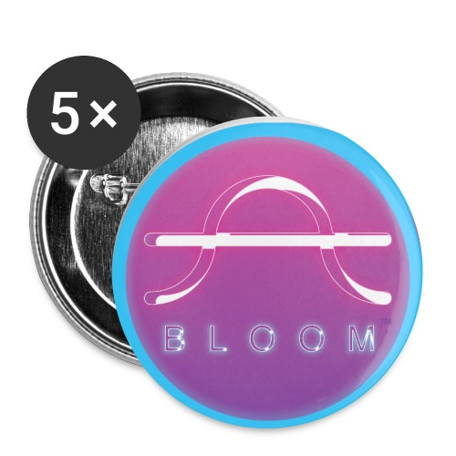 Culture Altar Bloom Profile 01 png - Buttons small 1'' (5-pack)