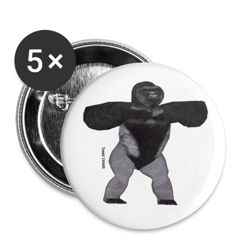 harambe - Buttons small 1'' (5-pack)