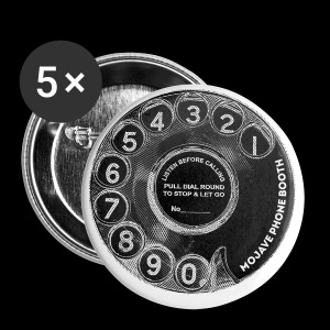 mojave phone booth dial - Small Buttons