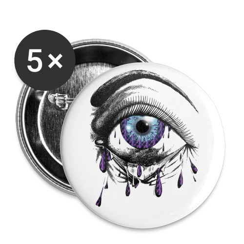 Lightning Tears - Buttons small 1'' (5-pack)