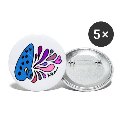 Mystical Ocarina - Buttons small 1'' (5-pack)