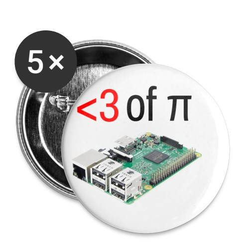 Life of Raspberry Pi 2 - Buttons small 1'' (5-pack)