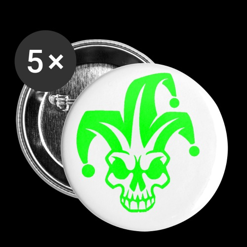 Wicked Crew Design 2 Green - Small Buttons