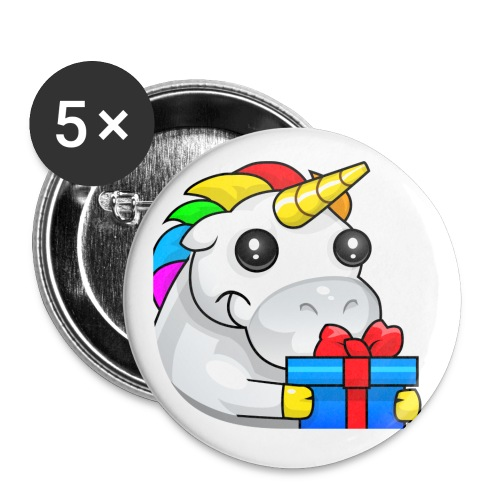 alasGift unicorn badge - Small Buttons