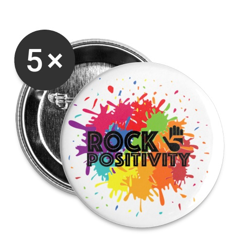Rock Positivity - Small Buttons