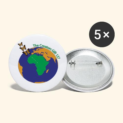 The CG137 logo - Buttons small 1'' (5-pack)