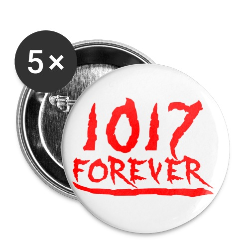 1017 4ever official2 png - Buttons small 1'' (5-pack)