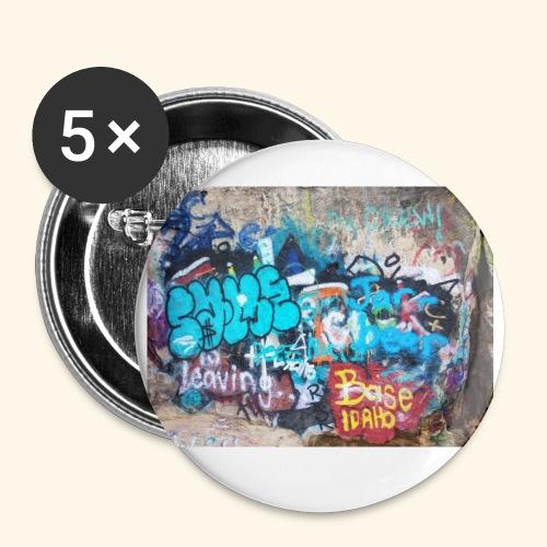 Boise Graffiti - Small Buttons
