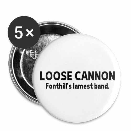 Fonthill's Lamest Band - Buttons small 1'' (5-pack)