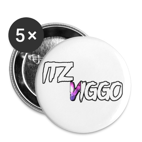 Purple V logo - Buttons small 1'' (5-pack)