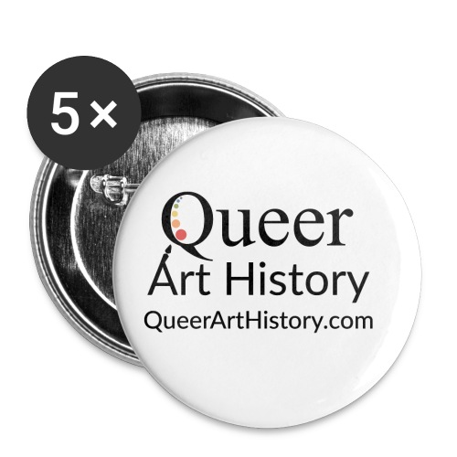 Queer Art History Logo - Small Buttons