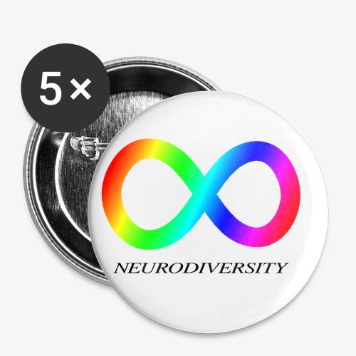 Neurodiversity - Buttons small 1'' (5-pack)