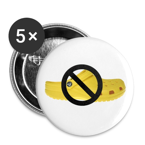 crocstshirt - Buttons small 1'' (5-pack)