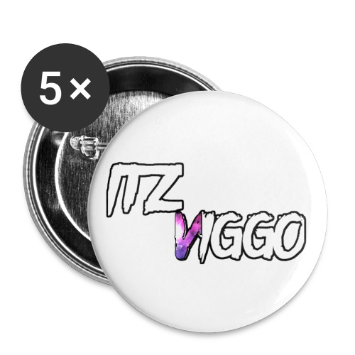 purple v t shirt logo png - Buttons small 1'' (5-pack)