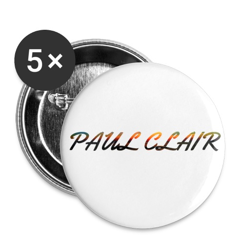Rainbow Paul Clair Accesories - Buttons small 1'' (5-pack)