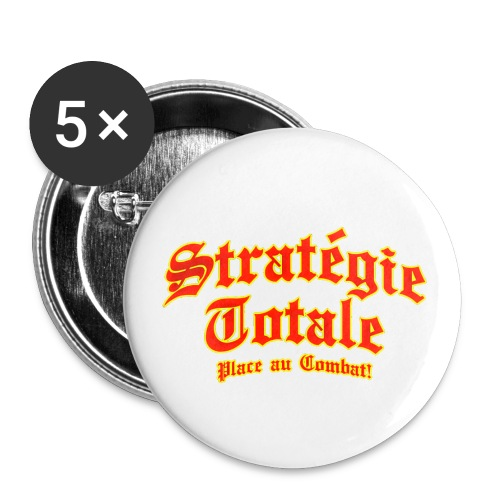 Logo officiel Stratégie Totale - Buttons small 1'' (5-pack)