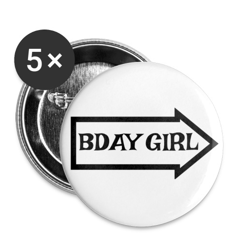 BDAY GIRL - Small Buttons
