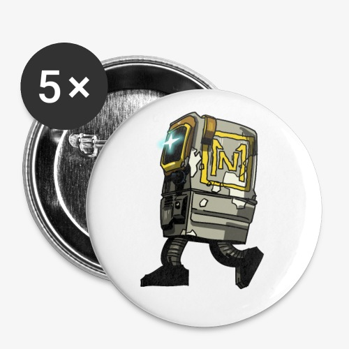 Gonk By Itself - Buttons small 1'' (5-pack)