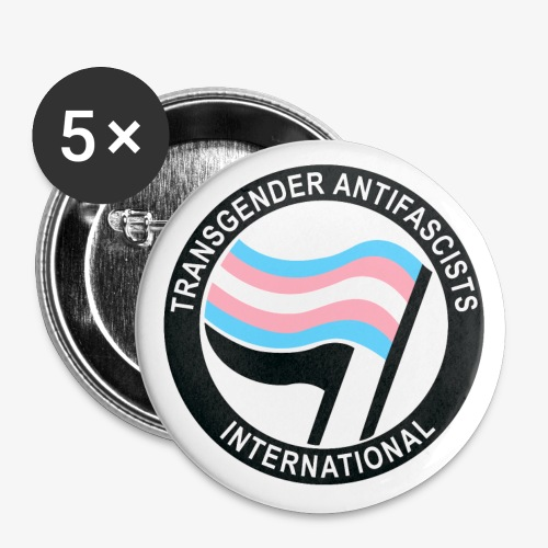 trans antifa - Small Buttons
