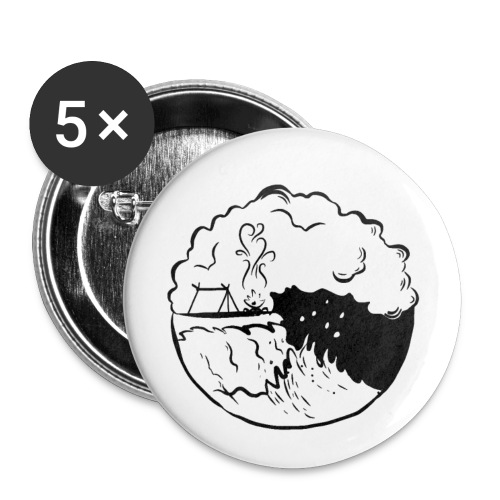 Beach - Small Buttons