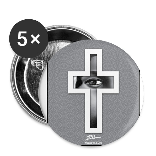 ***12% Rebate - See details!*** FOCUS ON CHRIST - - Buttons small 1'' (5-pack)